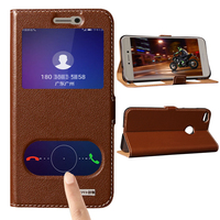 For Honor 8 Lite Magnet Genuine Leather Case For HuaWei Honor 8 Lite 5 2 Mobile