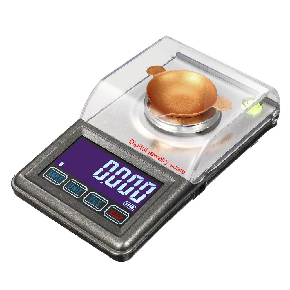 0.001g precisão lcd eletrônico laboratório pesando equilíbrio