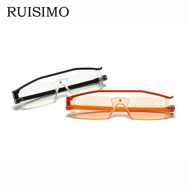 98e83f9942 Diseño italiano imán plegable gafas de lectura de lujo para mujeres marca  marco hombres presbicia gafas