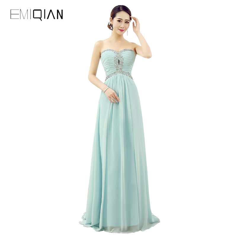 100% Real Photo Latest Designs Prom Long Chiffon Cheap Evening Dress 2017 Formal Evening Gown