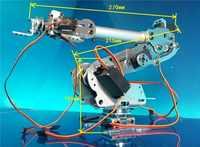 Abb産業用ロボットモデル7自由度ロボットアームフレームすべてのアルミロボットアームラック7サーボ回転ベース