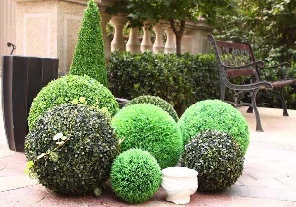 Front Porch Artificial Plants