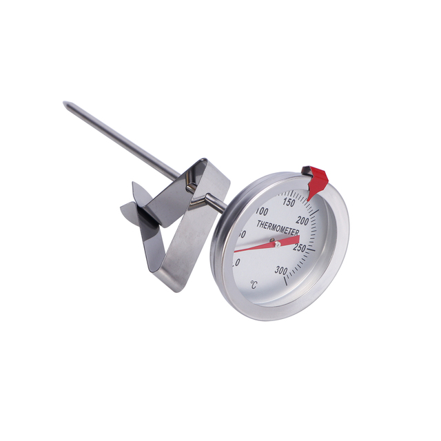 150mm Probe Length Deep Fry Thermometer Candy Sugar Frying Thermometer for Cooking