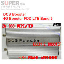 High gain 3000 sq meter 2W FDD LTE 4G booster+DCS booster,DCS repeater,1800Mhz booster,1800 signal enlarger,1800Mhz repeater 4G