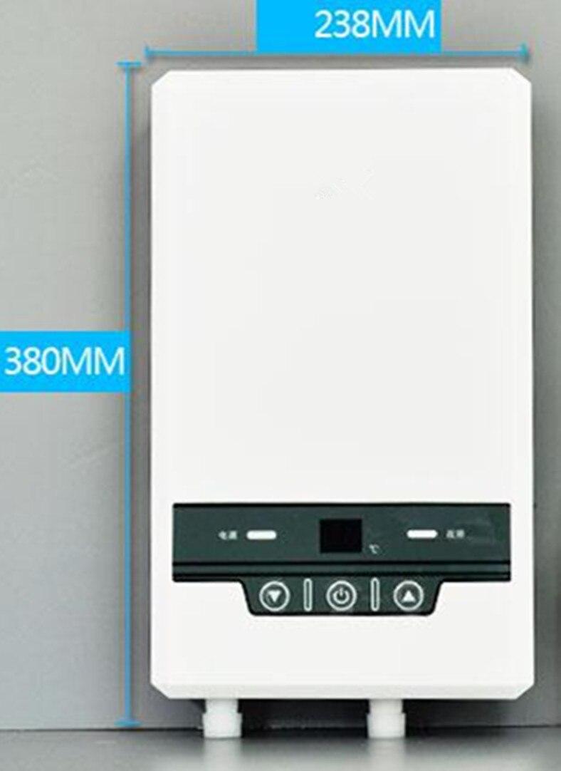 Großgeräte Haushaltsgeräte Elektrische Wasser Heizung Haushalt Inverter Konstante Temperatur Instant Heizung Tap Dusche Cpu Bad Bewässerung Heizung 7500 W