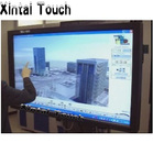 Free Shipping! 43 inch 2 points multi Infrared IR Touch Panel Frame Overlay Kit for Digital Signage