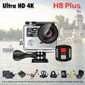Novo!! original eken h8 plus ultra hd action camera 4 k/30fps 1080 p/120fps wi-fi ambarella a12s75 ir à prova d' água mini cam pro yi 2