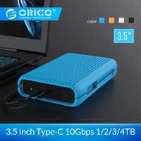 ORICO MS35 1/2/3/4 TB USB3.1 Gen2 TYPE C 3.5 In 10Gbps High Speed Shockproof External Hard Drives HDD Desktop Mobile Hard Disk
