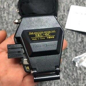 Image 1 - Fiber Cleaver SKL 6C Kabel Snijmes Fttt Glasvezel Mes Gereedschap Cutter Hoge Precisie Cleavers 16 Oppervlak Mes