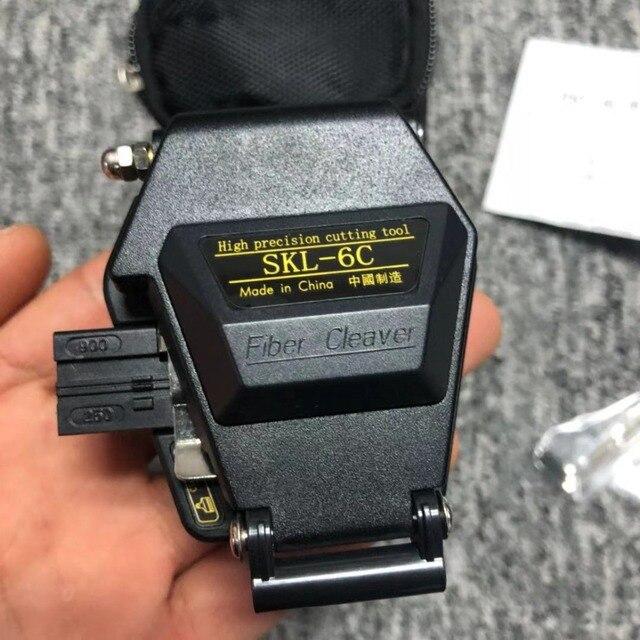 Fiber Cleaver SKL 6C Kabel Snijmes Fttt Glasvezel Mes Gereedschap Cutter Hoge Precisie Cleavers 16 Oppervlak Mes
