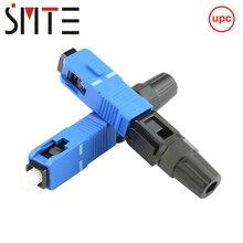 100 pces lote sc upc npfg 8802 tlc/3 XF 5000 0322 3 60mm conector rápido sc/zf sc/upc ftth fibra óptica