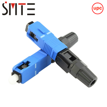 100pcs lot SC UPC NPFG 8802 TLC/3 XF 5000 0322 3 60mm 고속 커넥터 SC/ZF SC/UPC FTTH 광섬유