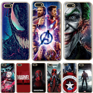 "Venom Deadpool Fundas For Huawei Honor 7A 7 A Russian Version Chic Coque Cases For Huawei Honor7A 5.45"" DUA-L22 Capa Cover(China)"