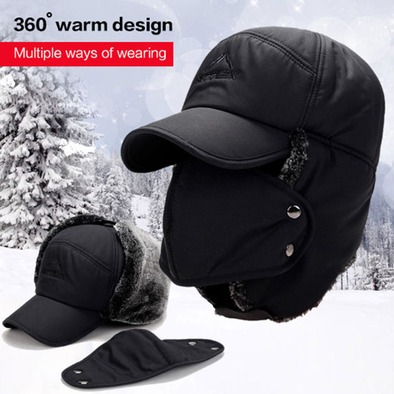 Apparel Accessories Obliging Fanala Hat Russia Ushanka Outdoor Corwarmers Cache Oreille Winter Hats For Men Beanies Viator Cap Winter Faux Rabbit Fur Caps Ha Meticulous Dyeing Processes Men's Bomber Hats
