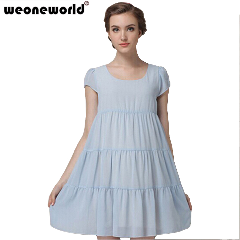 5bd2eed9b7a02 WEONEWORLD Hot Sale Girls dress Summer Chiffon Maternity Dresses Casual  Gravida Dress for Pregnant Women Pregnancy Clothes