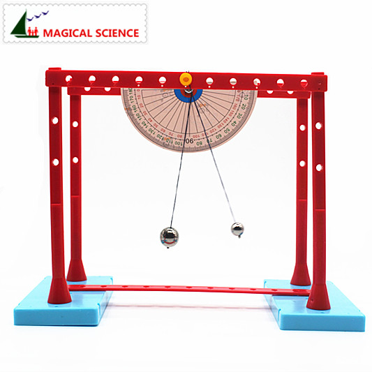 Оптовая продажа, простое оборудование для экспериментов с маятником, Funuy physics science, сборочные маятники ручной работы