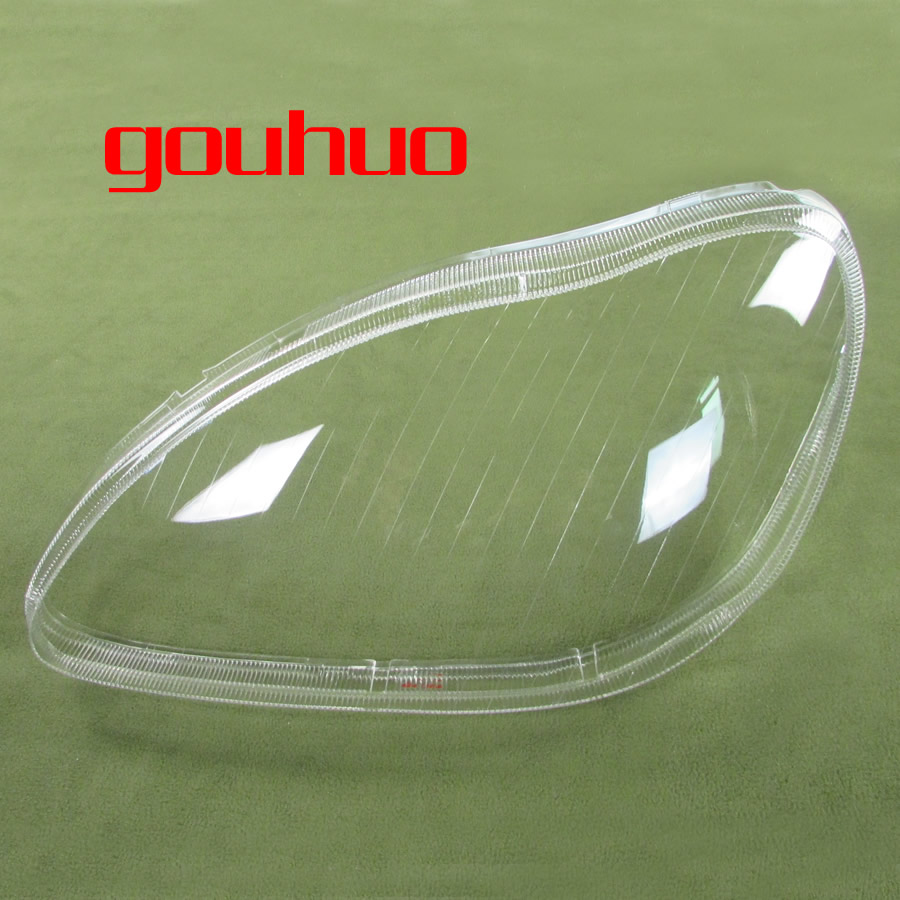Headlight Cover Headlight Shell Transparent lampshade headlamp glass for 98 05 Mercedes Benz W220 S280 S320 S500 S600 S350 2PCS