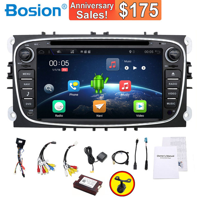 Cheap Car Radio 2 Din Android 7 1 Car Dvd Cassette Player For Ford