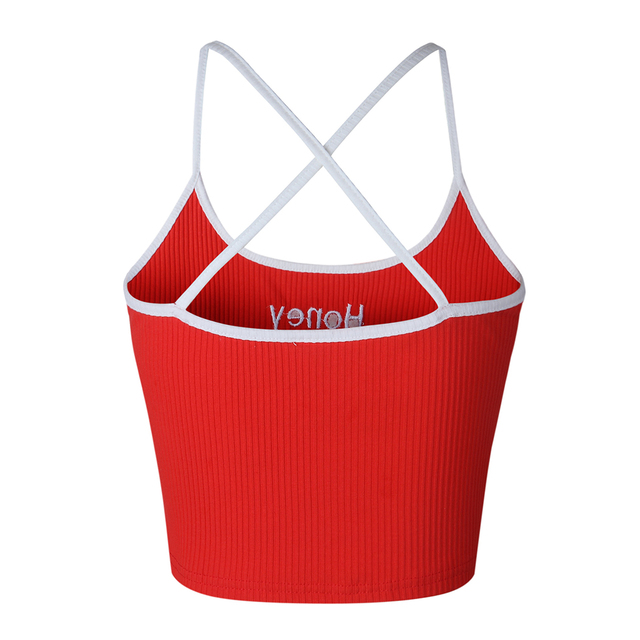 Women Summer Crop Tank Tops
