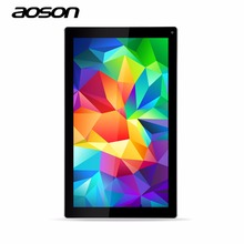 Android Tablet Pc de 10.1 pulgadas 1 Gb 8 Gb Quad Core Tablets Pc 1024*600 Lcd de Alta Definición Dual Cámaras Agradable Aoson M1016C-W Tab Pc