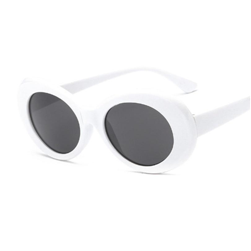 219d0329a Óculos de influência NIRVANA Kurt Cobain Rodada óculos de Sol Das Mulheres  Dos Homens Marca Designer Espelhado Óculos Masculino Feminino Óculos de Sol