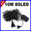 10M 80 LED Garden Wedding Party Holiday Xmas LED Christmas Decoration Cord Outdoor Fairy String New Year Garland Light CN C-18