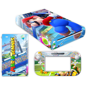 Image 2 - Super Mario Skin Sticker for Nintendo Wii U Console Cover with Remotes Controller Skins For Nintend wii u sticker