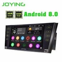 Радуясь 2 ГБ Оперативная память 8 Core 9 дюймов Android 8,0 Автомобильная магнитола с carplay стерео головное устройство для Toyota Camry /Aurion 2007 2008 2009 2010 2011