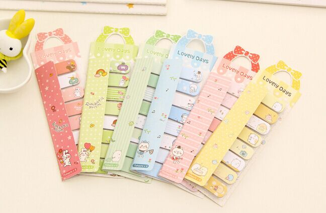 lovely day cartoon animals Sticky Notes Memo Pad post it Mini Sticky N Times Memo Notebook office school supply