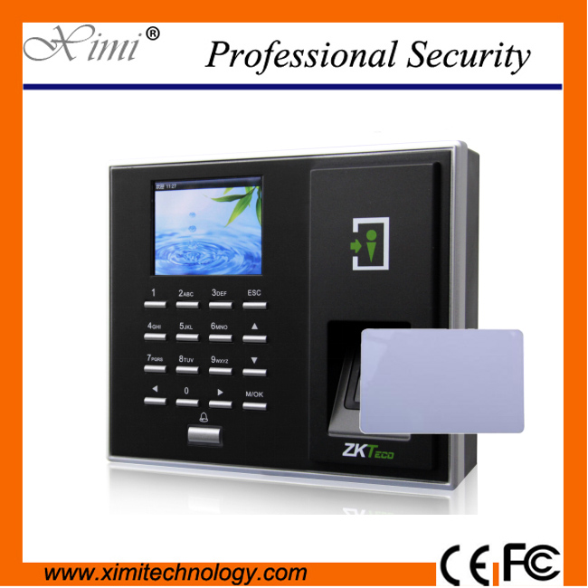 WIFI fingerprint access control and time attendance controller F2S, optional ID IC card reader wifi biometric face time attendance and access control system iface302 wifi communication fingerprint wifi terminal