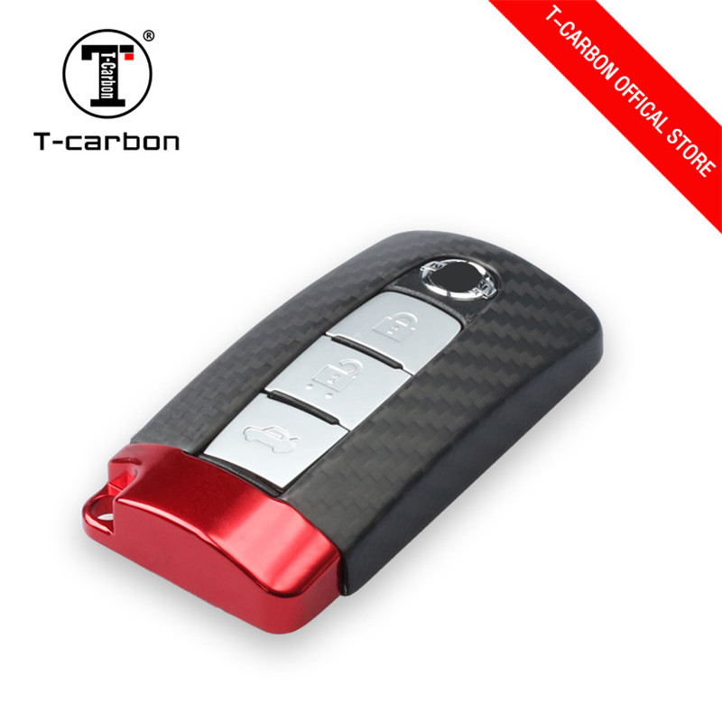 Real Carbon Fiber Remote keyless key Cover Case Skin Shell for Nissan Infiniti