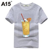 A15 Boy T Shirts for Children Printed T-shirt Casual Basic Tops Cool Tee  Shirts Girls Teenage Boys Clothing Summer 10 12 14 Year d5ad87523954