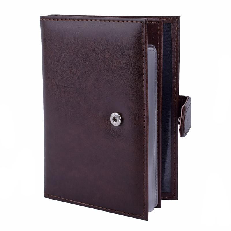 3 in 1 Passport Covers Organizer Automobil Führerschein Dokumente Fall pu-leder Pass Kartenhalter Porte Bancaire