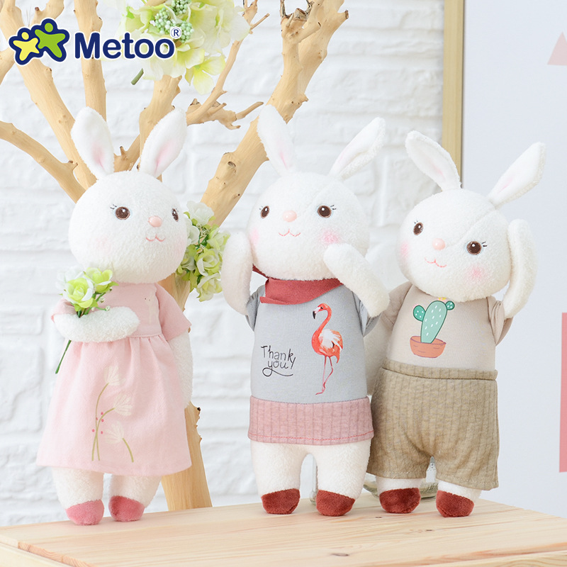 13 Inch Tiramitu Cute Rabbit Plush Stuffed Dolls Fetish Soft Toys For Children Girls Birthday Gift Metoo Origin Design