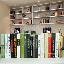 Brief book box modern decoration book model bookcase Strong Home Antique Decorative wholesale 10PCS wall dies wedding