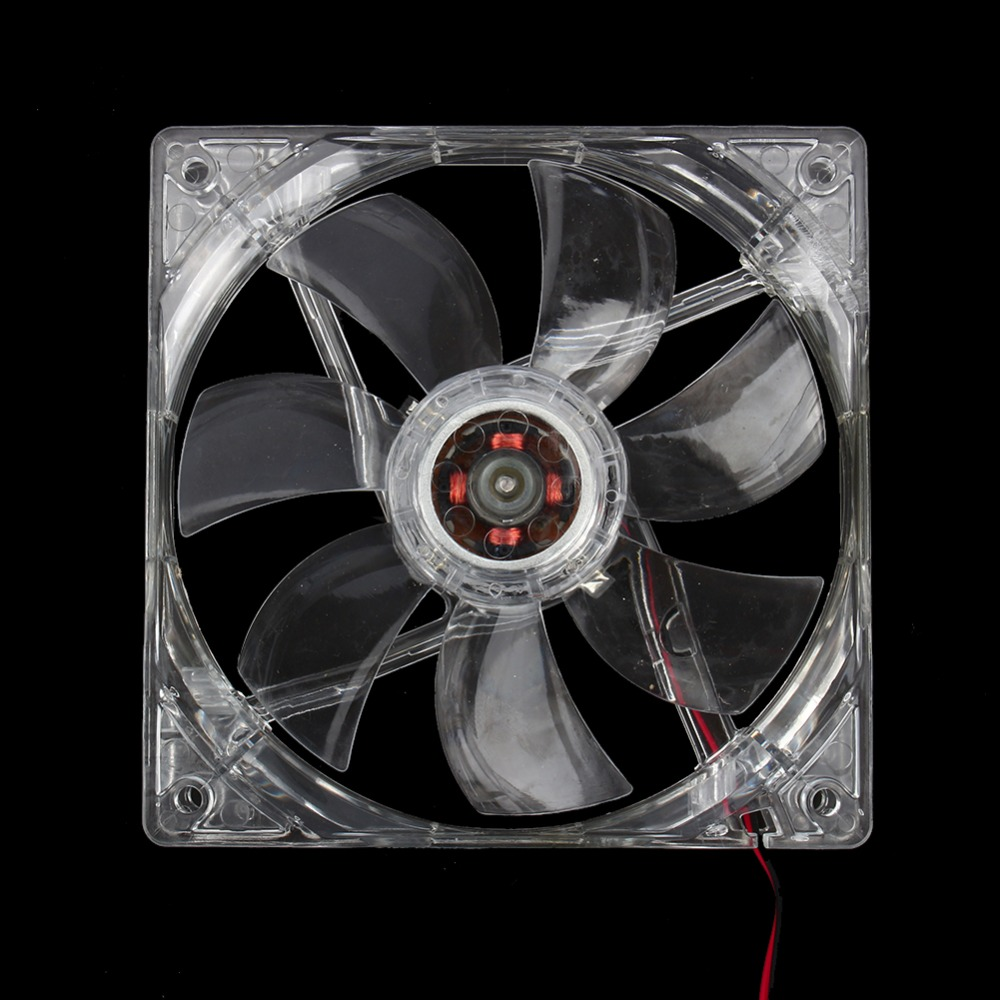 12 V 4pin 120mm Dingin Pc Cpu Komputer Cooling Fan 4 Biru Led Light Id Pl 12025 Pwm Pin Batal Kasus Quad Di Fans Dari Kantor Aliexpresscom Alibaba