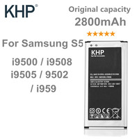 100 Original Brand KHP Phone Battery For Samsung Galaxy S5 G900S G900F G9008V G9006V NFC Built