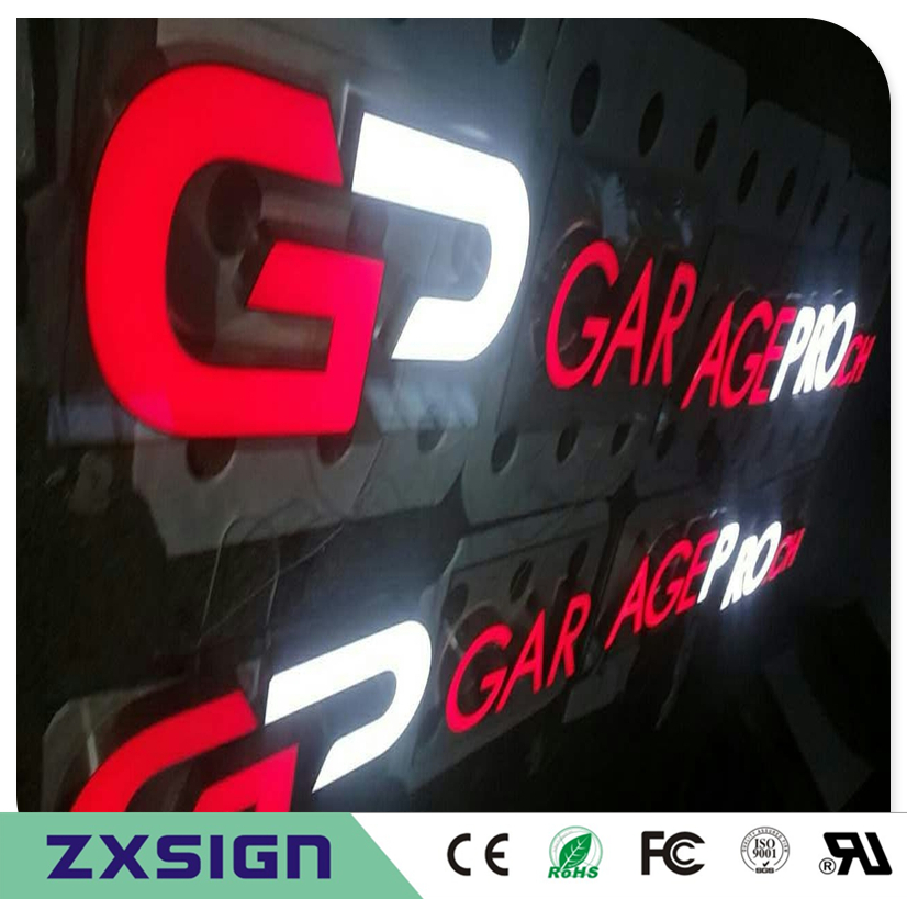 Factory Outlet Outdoor Waterproof High Brightness Acrylic Stainless Steel Sides Light Box Letters