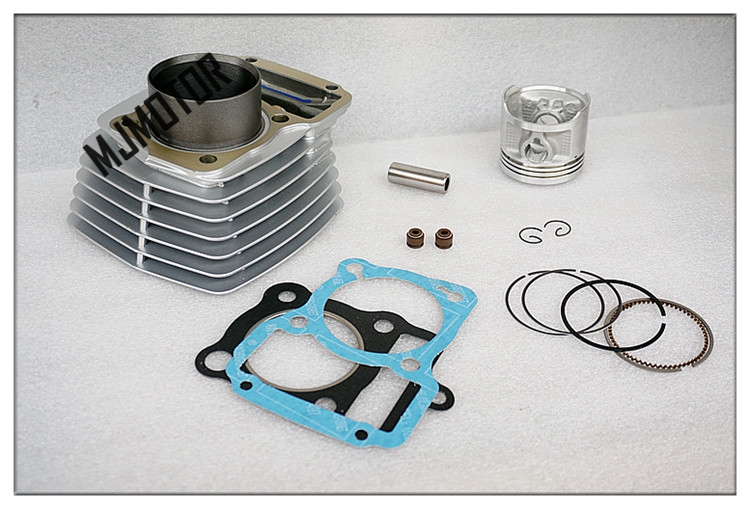 CG125 150 full set Cylinder Kit Engine with Piston Rings For Honda Motorcycle QJ Keeway suzuki atv part motorcycle cylinder kit 250cc engine for yamaha majesty yp250 yp 250 170mm vog 257 260 eco power aeolus gsmoon xy260t atv