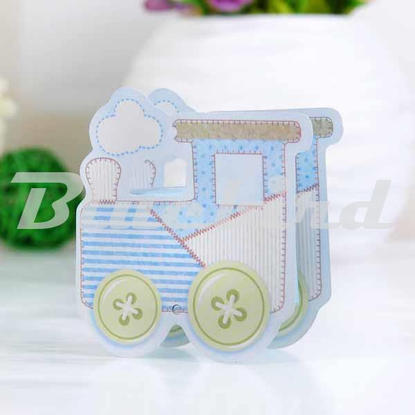 Lovely Baby Carriage Party Favor Boxes Paper Box Gift Box Packaging Box Candy Party Favors Baby Shower Bag