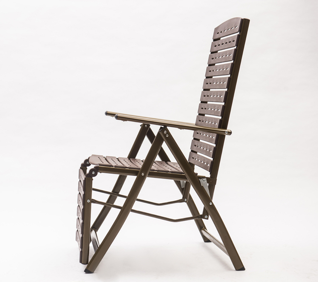 Portable En Plein Air Plastique Chaise Pliante Inclinable Chaises Bureau Dortoirs Peut