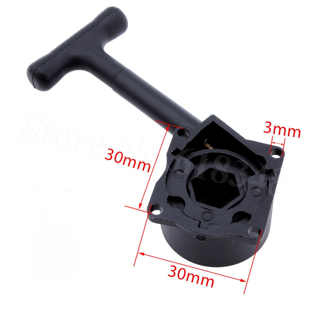 HSP R020 Pull Starter Hex 12mm Vertex VX SH 18 21cxp Nitro Engine Parts For 1/10 RC Model Car Monster Truck Buggy Himoto Redcat hsp 02024 differential diff gear complete 38t for 1 10 rc model car spare parts fit buggy monster