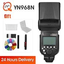 YONGNUO YN968N Wireless Flash Speedlite TTL 1/8000 Equipped With LED For Nikon DSLR Compatible With YN622N YN622NII YN560TXN