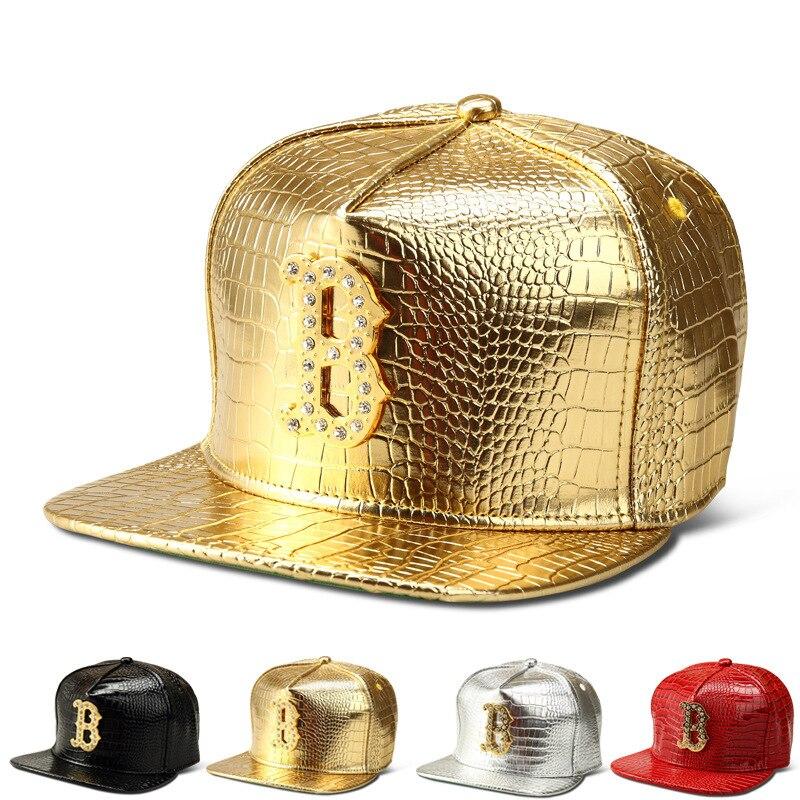 41b3fb9c5b657 2015 New fashion Boston Red Sox bone snapback caps gorras Rhinestone punk  style men and women baseball cap gold fitted hats -in Baseball Caps from  Apparel ...