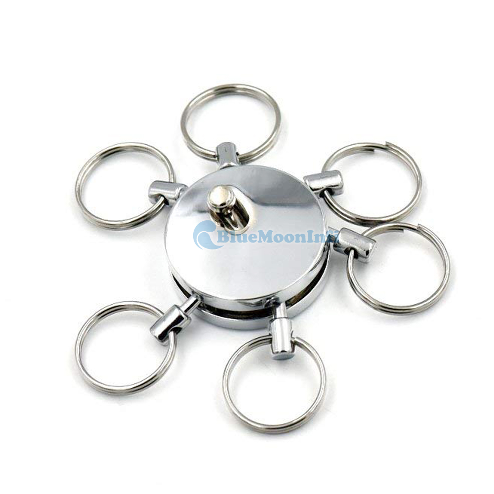 3/pcs multi extra/íble desmontable Llavero con 3/extra/íble llavero Clip cadena cintur/ón