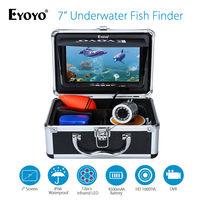 Eyoyo 7 Color Monitor 15m 1000TVL HD DVR Professional Fish Finder Underwater Sea Ocean Fishing Video