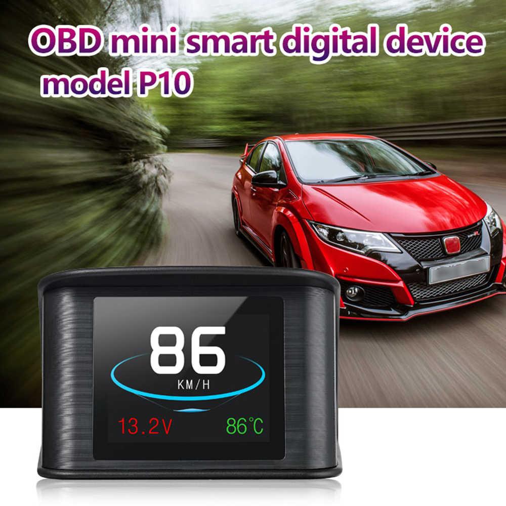 HUD Heads Up Дисплей OBD сканер OBD2 цифровой универсальный автомобиль спидометр двигателя