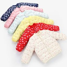 Baby Girl Winter Clothes Fashion Cartoon Print Windproof Newborn Baby Warm Snowsuit Baby Girl Winter Coat Snow Clothes For Kids(China)