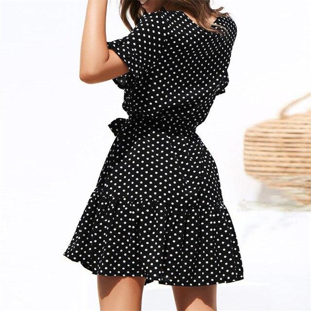Beach Dress Casual Short Sleeve 1