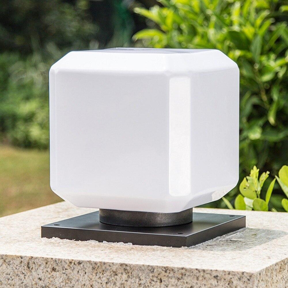 Practical And Elegant Square Pillar Lamps Outdoors Lamp